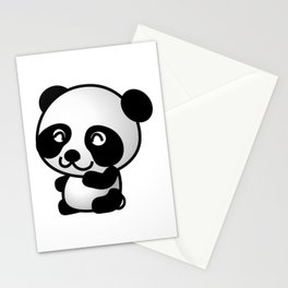 Panda Baby Cute Stationery Cards