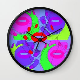 Dancing Mirror Wall Clock