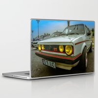 volkswagen Laptop & iPad Skins featuring Volkswagen Golf Vintage by Eduard Leasa Photography