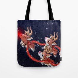Santa's Backups Tote Bag