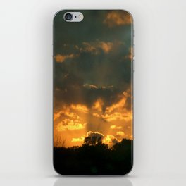 Cloud Interference  iPhone Skin