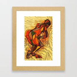 2011 walk out of your loop Framed Art Print