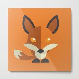 Mr. Foxy Metal Print