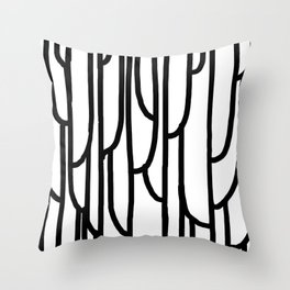 Raw Pattern Series: n. 5 Throw Pillow