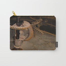 Gears at the Distillery Carry-All Pouch