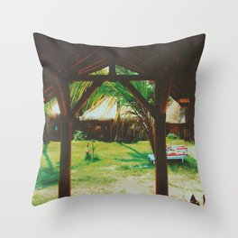 Gili Air, Indonesia Throw Pillow