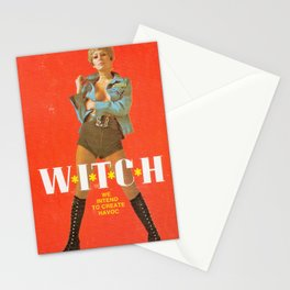 We Intend To Cause Havoc Stationery Cards