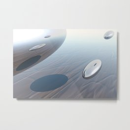 Escaping Area 51 Metal Print