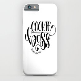 Cookie Boss iPhone Case