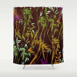 bamboo nites Shower Curtain