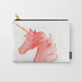 Unicorn Head Carry-All Pouch