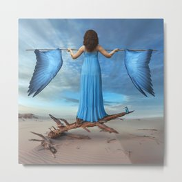 Learning to fly Metal Print