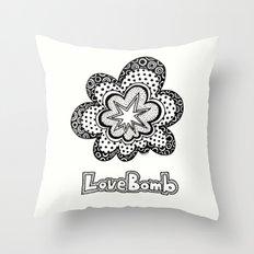 Love Bomb Throw Pillow