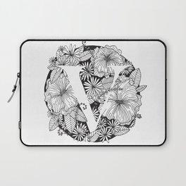 Flower V Laptop Sleeve