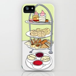 English Afternoon Tea iPhone Case