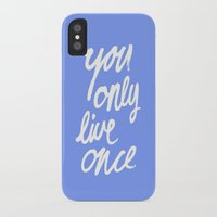 yolo iPhone & iPod Cases featuring YOLO by herejustbc;