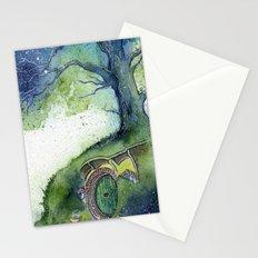 Oak Tree Fireflies Stationery Cards