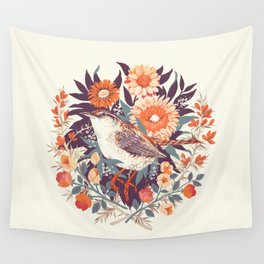Wren Day Wall Tapestry