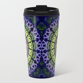 Groovy crackles patterns mandala Travel Mug