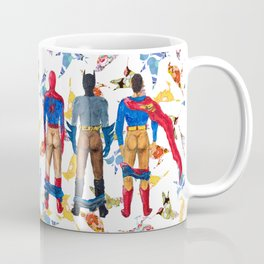 Super Hero BUTTs | It's a bird, it's a plane, it's... a booty Coffee Mug