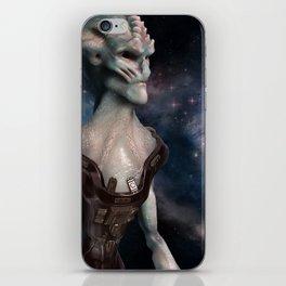 Alien Hero iPhone Skin