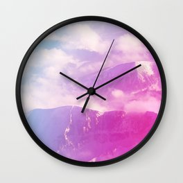 Mountains Beyond Mountains Wall Clock