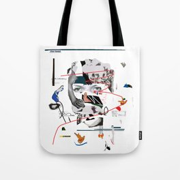 Abstract Portrait 1 Tote Bag