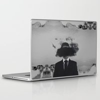 psychology Laptop & iPad Skins featuring Shroud by James McKenzie