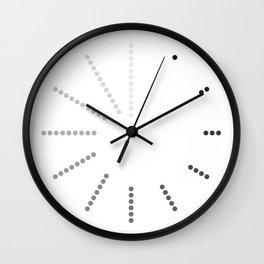 Modern Dots Clock Wall Clock