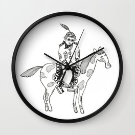 POCAHONTAS Wall Clock