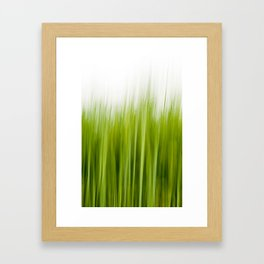Grass wipe --- Gras-Wusch Framed Art Print