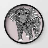 ellie goulding Wall Clocks featuring Ellie by lush tart