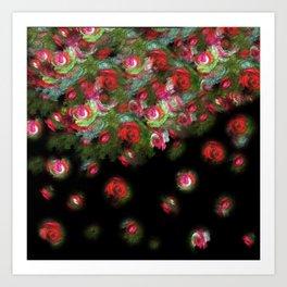 Gypsy Roses Art Print