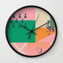 Prosperity Wall Clock