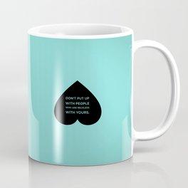 Sunscreen / Don't be reckless Coffee Mug