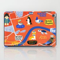 london map iPad Cases featuring LOndOn Map by Hui_Yuan-Chang
