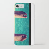 feet iPhone & iPod Cases featuring Feet by Devin Stout