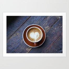 A Whole Latte Love Art Print