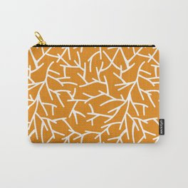Branches - Orange Carry-All Pouch