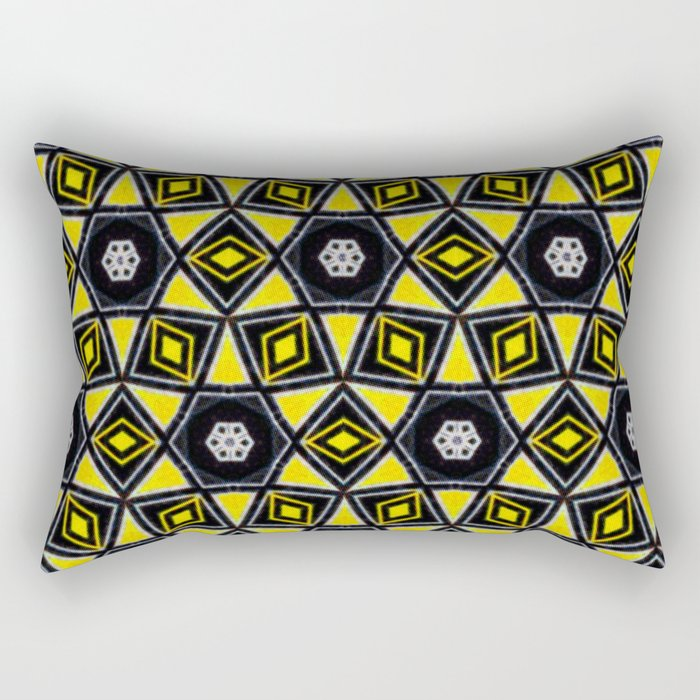 African Geometric Pattern Rectangular Pillow