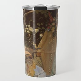 Monet- Women in the Garden, nature,Claude Monet,impressionist,post-impressionism,painting Travel Mug