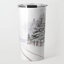 winter landscape Travel Mug