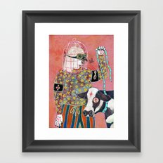 Otage Framed Art Print