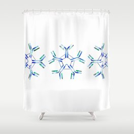 IgM Antibodies Shower Curtain