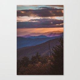 Clingman's Dome Canvas Print