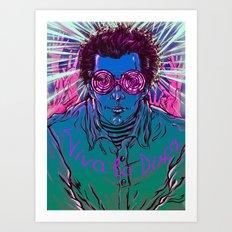 Viva la Disco Art Print