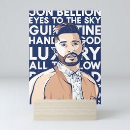 jon bellion luxury tour 2019 simukasama Mini Art Print
