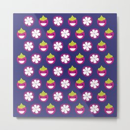 Dotty Mangosteen II - Singapore Tropical Fruits Series Metal Print