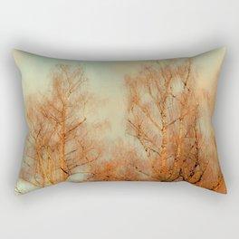 TREES AT SUNSET 3 Rectangular Pillow