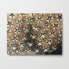 Serie Texturas - CleMpasS - Estrellas Metal Print